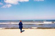 spacer nad Morzem Bałtyckim