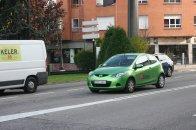 zielona Mazda